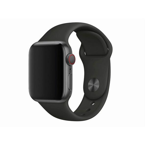 Apple Sportarmband, für Apple Watch 40 mm, schwarz