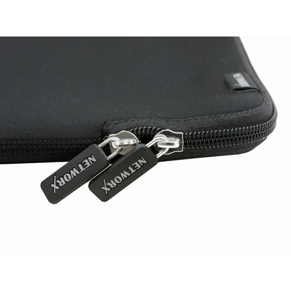 """Networx Neopren Sleeve, Schutzhülle für MacBook Pro 15"""", schwarz"""