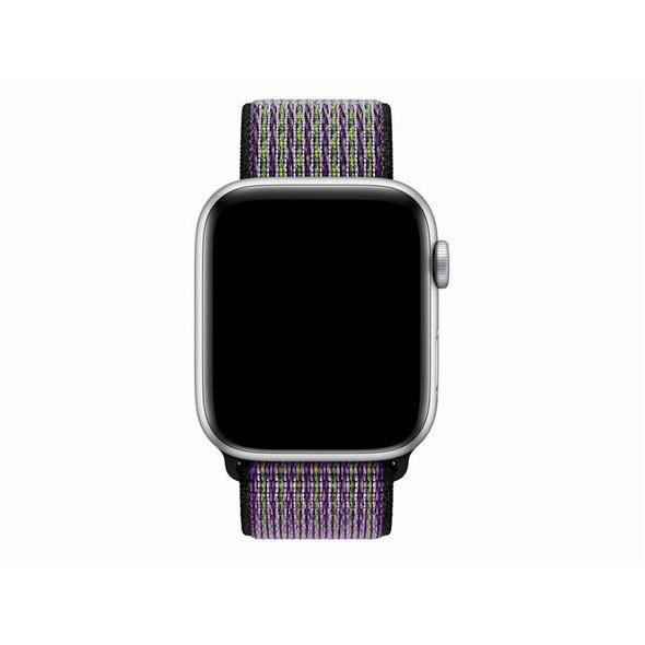 Apple Nike Sport Loop, für Apple Watch 42/44 mm, Nylon, desert sand/volt
