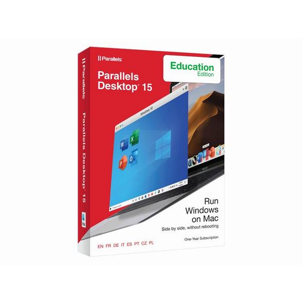 Parallels Desktop 16, Virtualisierungssoftware für Mac, Education-Version, Abo