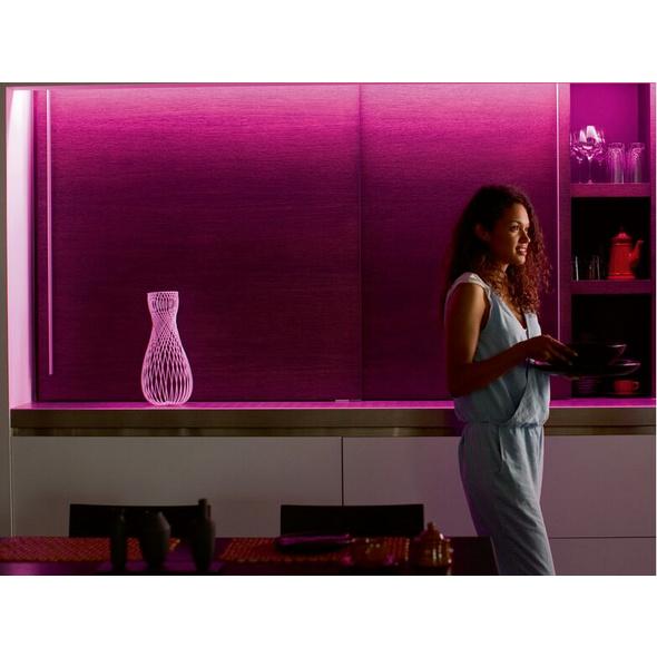 Philips Hue LightStrip Plus Erweiterung, 1 m LED-Band, Bluetooth