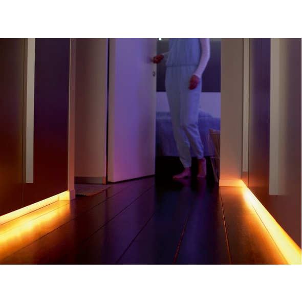 Philips Hue LightStrip Plus, 2 m LED-Band, White & Color Ambiance, Bluetooth