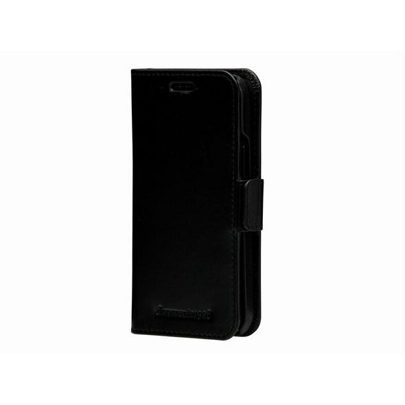 dbramante1928 Lynge, Leder-Schutzhülle für iPhone 12 mini, schwarz