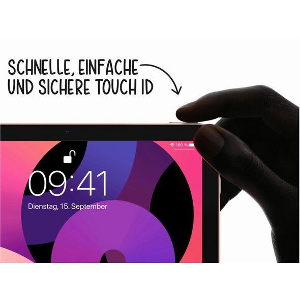 Apple iPad Air (2020), mit WiFi, 64 GB, roségold