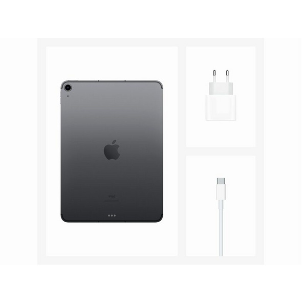 Apple iPad Air (2020), mit WiFi & Cellular, 64 GB, space grau