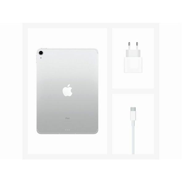 Apple iPad Air (2020), mit WiFi & Cellular, 64 GB, silber