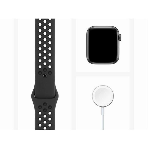 Apple Watch Nike Series 6, Cellular, 40mm, Alu. space grau, Sportb. anthr./schw