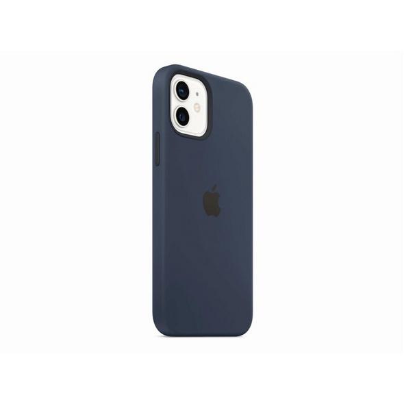 Apple Silikon Case mit MagSafe, für iPhone 12/12 Pro, dunkelmarine