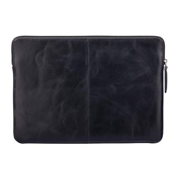 """dbramante1928 Skagen Pro, Leder-Schutzhülle für MacBook Pro 16"""", schwarz"""