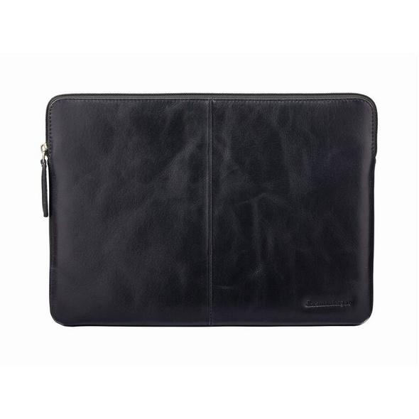 """dbramante1928 Skagen Pro, Leder-Schutzhülle für MacBook 13"""", schwarz"""