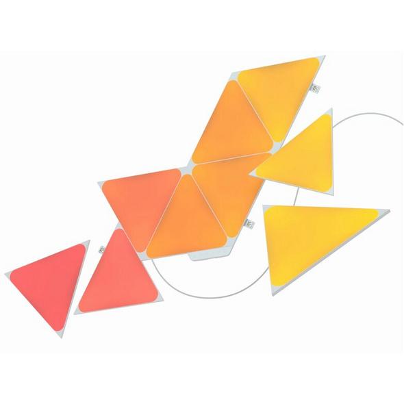 Nanoleaf Shapes Triangle Starter Kit, modulare LED-Lichtpaneele, 9-teiliges Set