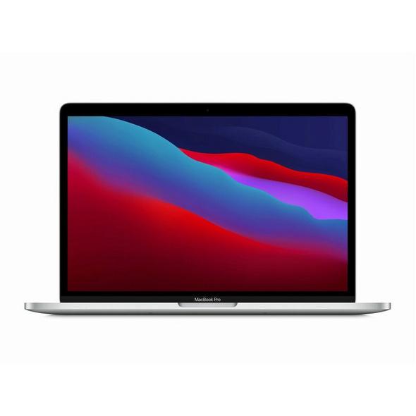"Apple MacBook Pro 13"" (2020), M1 8-Core CPU, 16 GB RAM, 256 GB SSD, silber"