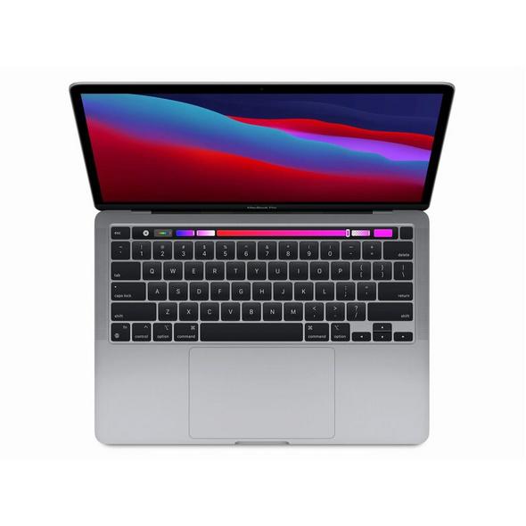 """Apple MacBook Pro 13"""" (2020), M1 8-Core CPU, 16 GB RAM, 256 GB SSD, space grau"""