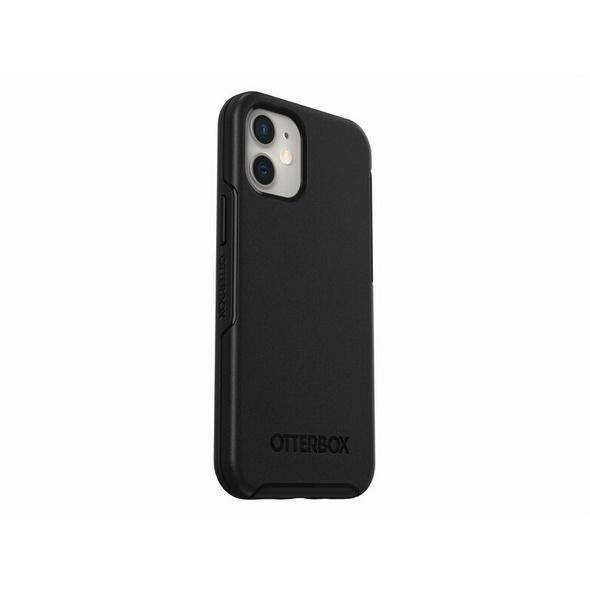 OtterBox Symmetry Series+ Schutzhülle, mit MagSafe, für iPhone 12 mini, schwarz
