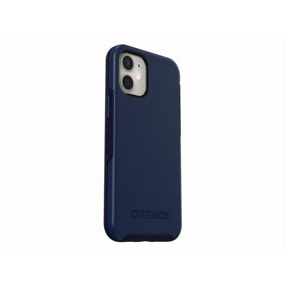 OtterBox Symmetry Series+ Schutzhülle, mit MagSafe, für iPhone 12 mini, blau