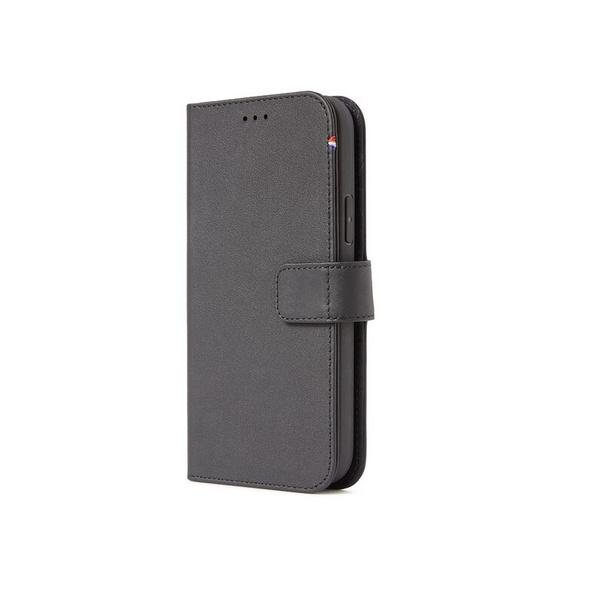 Decoded Detachable Wallet, MagSafe Schutzhülle f. iPhone 12 Pro Max, schwarz