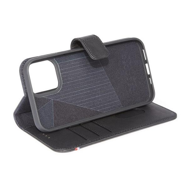Decoded Detachable Wallet, MagSafe Leder-Schutzhülle f. iPhone 12 mini, schwarz
