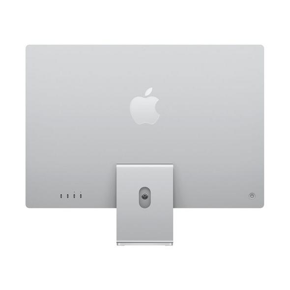 """Apple iMac 24"""", M1 8-Core CPU, 8-Core GPU, 8 GB RAM, 256 GB SSD, silber"""