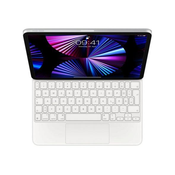 """Apple Magic Keyboard, für iPad Pro 12,9"""" (2021), USB-C, deutsch, weiß"""