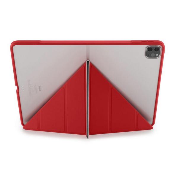 """Pipetto Origami Case, Schutzhülle für iPad Pro 12,9"""" (2018/19/20/21), rot"""
