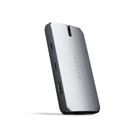 Satechi USB-C On-the-Go Multiport Adapter, USB-A, Ethernet, HDMI, microSD, VGA