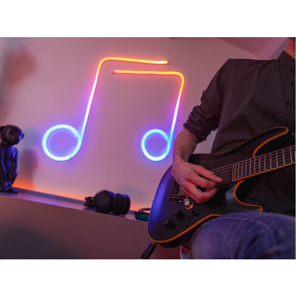 Twinkly Flex, flexibler LED-Lichtschlauch mit 192 LEDs, 2 m