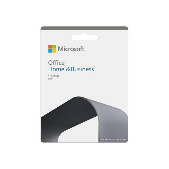 Microsoft Office Home & Business 2021, unbeschränkte Laufzeit, Key Card