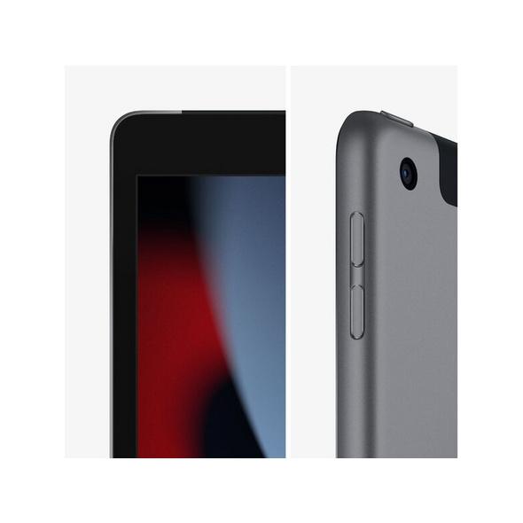 Apple iPad (2021), mit WiFi & Cellular, 256 GB, space grau