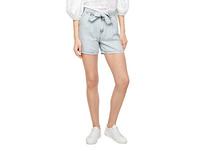 Loose Fit: Jeanshorts mit Gürtel - Shorts