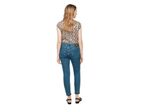 Skinny Fit: Stretchjeans mit Nieten - Jeans