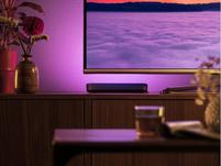 Philips Hue Play Set, 2x White & Color Ambiance LED-Tischleuchten, schwarz