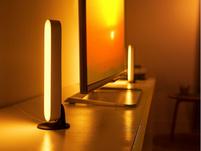 Philips Hue Play Set, 2x White & Color Ambiance LED-Tischleuchten, weiß