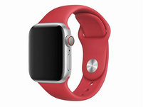 Apple Sportarmband, für Apple Watch 40 mm, (PRODUCT)RED rot