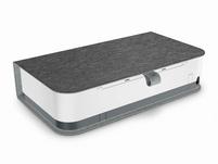 HP Tango X, Smart Home Drucker, A4 Farb-Tintenstrahl, inkl. Cover, weiß/grau