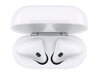 Apple AirPods, 2. Generation, Wireless, inkl. kabellosem Ladecase