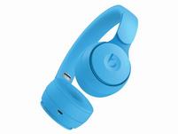 Beats Solo Pro, Wireless On-Ear-Headset, Bluetooth, ANC, hellblau