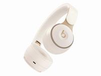Beats Solo Pro, Wireless On-Ear-Headset, Bluetooth, ANC, elfenbeinweiß