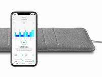 Withings Sleep Analyzer, Schlafsensormatte mit IFTTT, grau