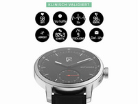Withings ScanWatch, Hybrid-Smartwatch, 42 mm, schwarz