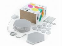 Nanoleaf Shapes Hexagon Starter Kit, modulare LED-Lichtpaneele, 9-teiliges Set