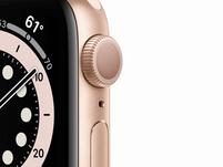 Apple Watch Series 6, 40 mm, Aluminum gold, Sportarmband sandrosa