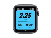 Apple Watch Nike Series 6, 44 mm, Aluminum space grau, Sportarmband anthr/schw.