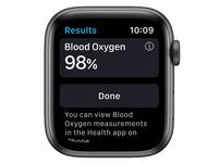 Apple Watch Series 6, 44 mm, Aluminum space grau, Sportarmband schwarz
