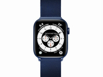 LAUT Steel Loop, Armband für Apple Watch, 38/40 mm, blau