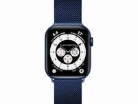 LAUT Steel Loop, Armband für Apple Watch, 42/44 mm, blau