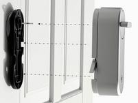 Yale Linus Smart Lock, smartes Türschloss, HomeKit, silber