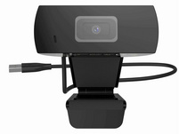 XLayer USB Webcam, Full HD, 1.080 p, schwarz