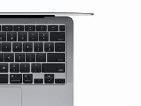 """Apple MacBook Air Ret. 13"""" (2020), M1 8-Core CPU, 16 GB RAM, 256 GB SSD, grau"""