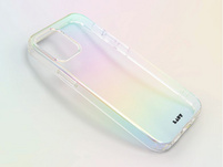 LAUT Holo, Schutzhülle für iPhone 12 mini, transparent