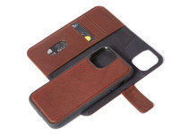 Decoded Detachable Wallet, MagSafe Schutzhülle f. iPhone 12/12 Pro, braun